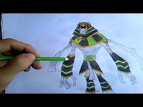 Como Desenhar Ben 10 - BenMúmia