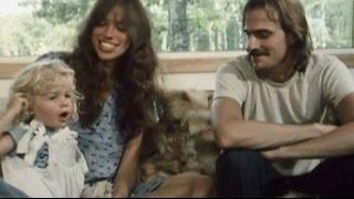 """Video thumbnail of """"James Taylor & Carly Simon at home - 1977"""""""