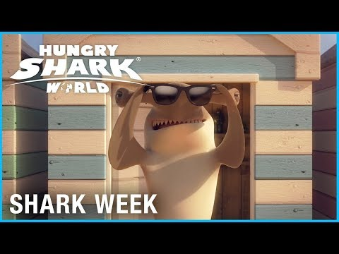 Hungry Shark World: Sunglasses | Shark Week | Ubisoft [NA] thumbnail