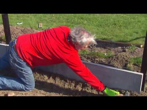 Hoe tuinomheining plaatsen