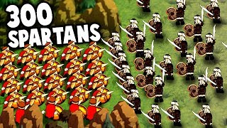 Download Youtube: 300 SPARTANS! NEW Battle Simulator Game!  (Thermopylae 300 Spartans in Hyper Knights: Battles)
