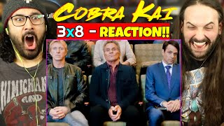 COBRA KAI 3x8 - REACTION!! The Good, The Bad, And The Badass (Season 3 Episode 8) by The Reel Rejects
