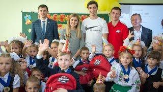 Первый звонок в школах Донбасса
