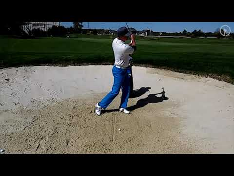 "Find Your ""Divot"" in the Sand to Hit Consistent Shots"