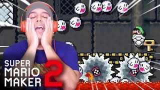 WHOEVER MADE THIS NEEDS TO BE LOCKED UP! [SUPER MARIO MAKER 2] [#64]