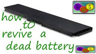 five(5) steps on  how to revive your dead laptop battery back to life 2018