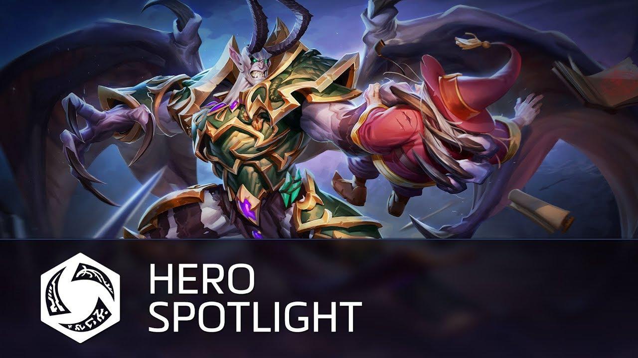 Mal'Ganis е новия герой в Heroes of the Storm