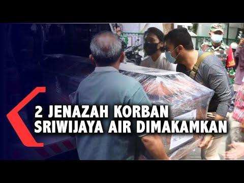 Pemakaman Jenazah Ibu dan Anak Korban Sriwijaya Air SJ-182