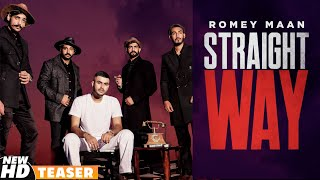 Straight Way (Teaser) | Romey Maan | Sulfa | Ikjot | Latest Punjabi Teasers 2020 | Speed Records
