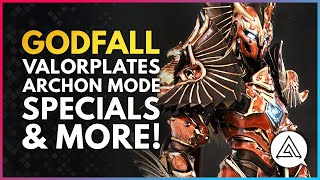 All Valorplates in GODFALL So Far! Archon Mode, Passives & Gameplay Explained