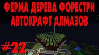 ФЕРМА ДЕРЕВА И АВТОКРАФТ АЛМАЗОВ - ПРЕДФИНАЛ DraconicTechnoMagic #22