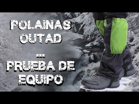 Polainas para nieve bpro. Prueba y valoración por Juanjo de JJ.Adventure.