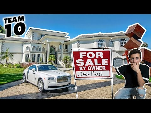 I PUT JAKE PAUL'S NEW TEAM 10 HOUSE UP FOR SALE! (ALMOST GOT CAUGHT) Mp3