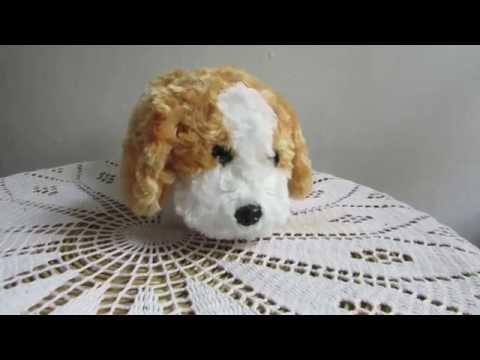 Ein wahrer kleiner Künstler ist dieser Plüsch-Hund von Pearl