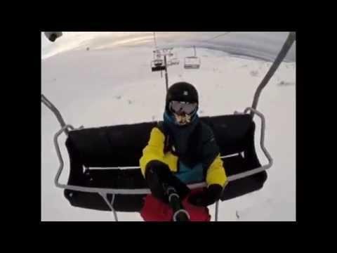 Видео: Видео горнолыжного курорта Салма (Полярные Зори) в Мурманская область