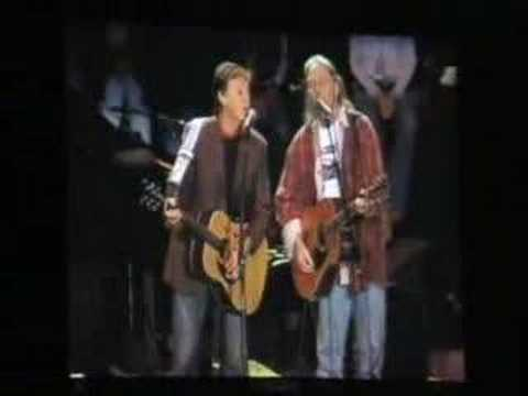 Paul McCartney&Neil Young  - Only Love Can Break Heart