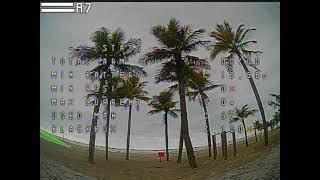 FLYING MY MINI QUAD AT THE BEACH - FPV RAW CLIP