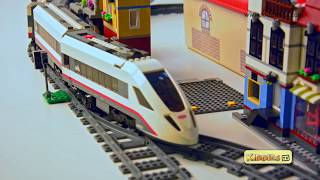 Lego City High Speed Passenger Train Story 60051 and Unboxing | Preschool  | Kindergarten  Kiddiestv