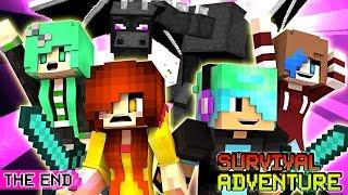 Minecraft Survival Adventure EP20   The End   Gamer Chad, RadioJH Audrey, SallyGreenGamer