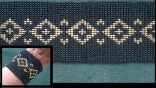Stich 4: Basic Ladder / Square Stich (looming Without Loom) Beading Tutorial