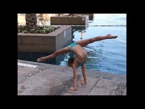 Sasha Shmidt rythmic gymnastic // Саша Шмидт художественная гимнастика
