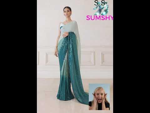 Ladies designer fancy silk saree