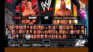 Descargar SaveData para WWE SmackDown Vs. Raw 2011 PSP (Todo Desbloqueado)