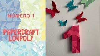 Papercraft Lowpoly - Montagem Número 1