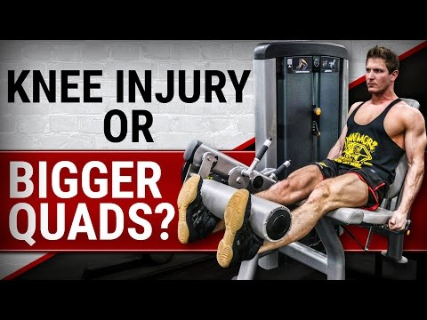 Are Leg Extensions Bad For Your Knees? | Do They Build BIGGER QUADS?