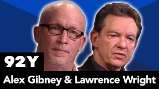 Alex Gibney and Lawrence Wright with Janice Min