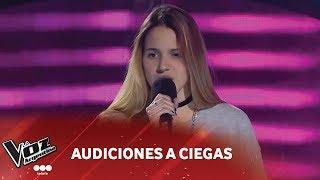 """Camila Belén Cabanelas - """"Perdón, perdón"""" - Ha-ash - Audiciones a ciegas - La Voz Argentina 2018"""