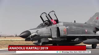 Konya'da Uluslararası Anadolu Kartalı-2019 eğitimi