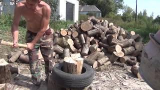 Заготовка дров   ДЕДОВСКИЙ ОПЫТ ,
