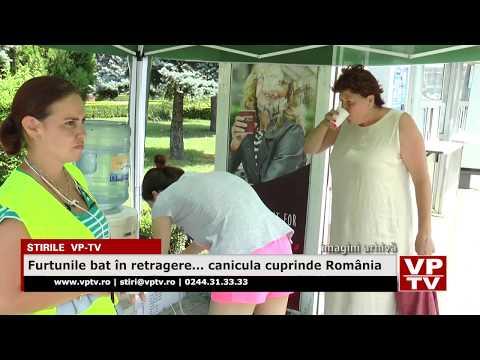 Furtunile bat în retragere… canicula cuprinde România