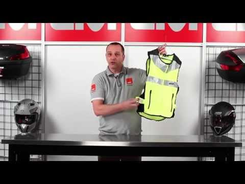 Safety Vest Trekker range for motorbikers