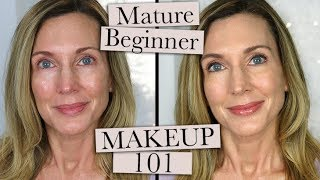 Makeup 101 ~ Beginner Makeup for Mature Women Who Don't Wear Makeup!