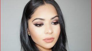 Warm Makeup For Brown/Hazel Eyes | Diana Saldana