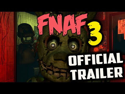 L-Effect | Five Nights at Freddy's 3 TRAILER REACTION