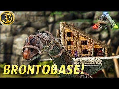 how to build bronto platform cabin no mods ark survival