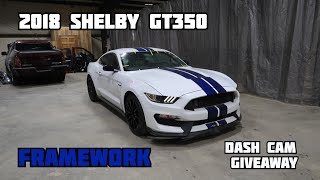 Framework on 2018 Ford Mustang Shelby GT350