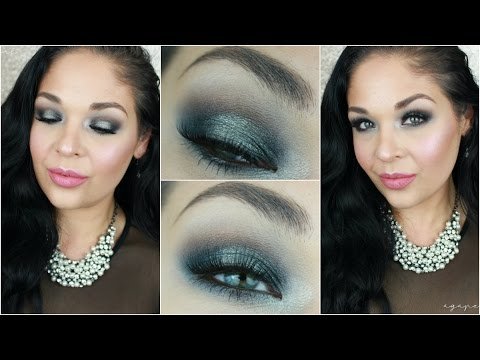 Gun Metal Smokey Eye Tutorial Sexy Valentines Look