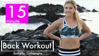 15 Minute Back Workout | Rebecca Louise by Rebecca-Louise