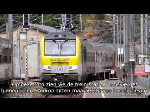 De spoorlijn Luik - Troisvierges - Luxemburg: Door de Ardennen!
