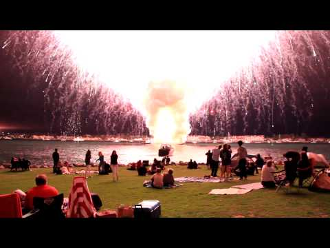 In 2012 a malfunction caused the city of San Diego's entire fireworks show to go up in 35 seconds.
