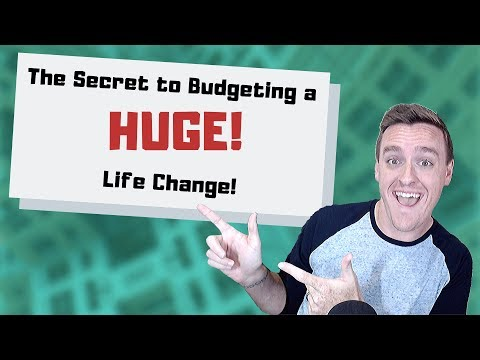 The Secret to Budgeting a HUGE Life Change!