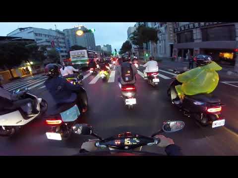 20181007 Gogoro 台北橋騎蹟 2018 「最大規模電動機車遊行」金氏世界紀錄認證通過!1303台車穿越台北實錄