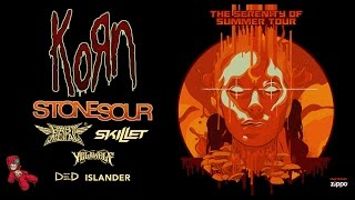 Korn: The Serenity Of Summer Tour