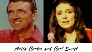 Anita Carter and Carl Smith   Amazing Grace