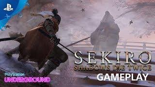 Sekiro: Shadows Die Twice Gameplay Walkthrough and Corrupted Monk Boss Battle | PS Underground