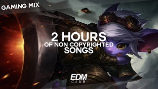2 HOURS OF NON COPYRIGHTED SONGS   GAMING MIX: EDM, TRAP, FUTURE, BASS, DUBSTEP 2016 / 2017